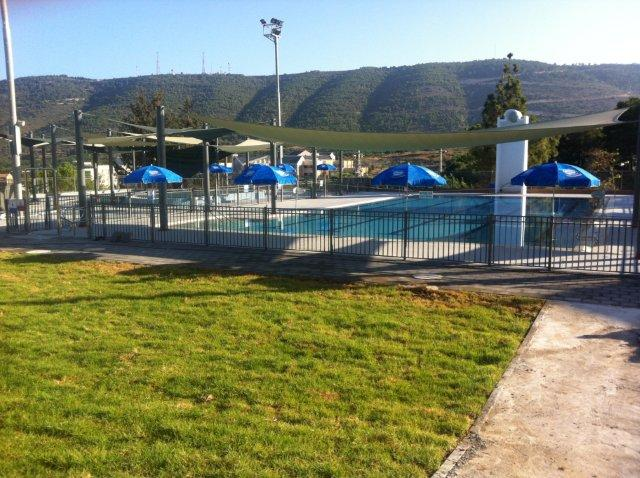 Swimming pool in Shlomi